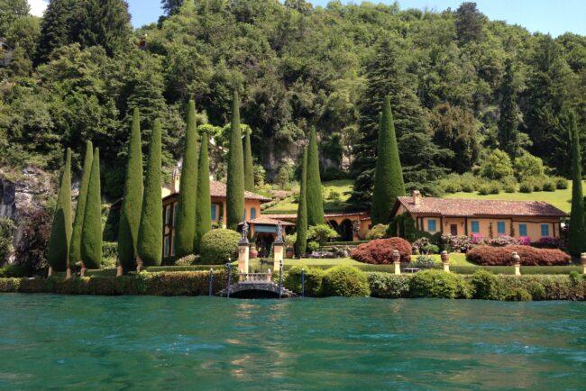 Villa Cassinella, a luxury villa at Como Lake