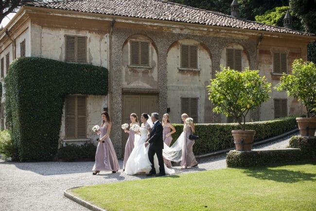 Luxury wedding at Villa Pizzo, Lake Como