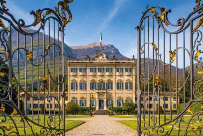 Villa Sola Cabiati for luxury Como Lake weddings