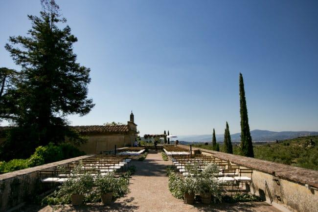 Prestigious resort ceremony arrangements