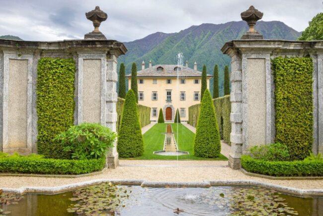 Villa Balbiano the most luxury Como Lake Wedding Venue