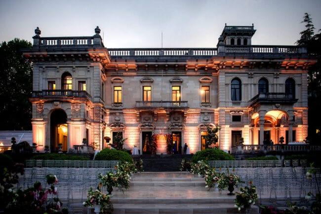 Villa Erba Luxury Como Lake wedding venue