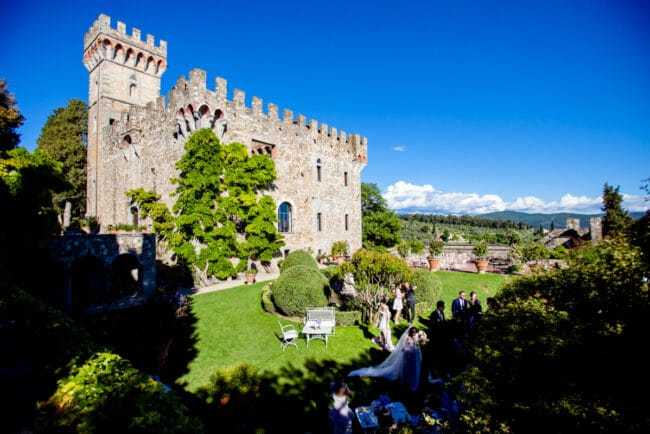 Wedding in Florence castle