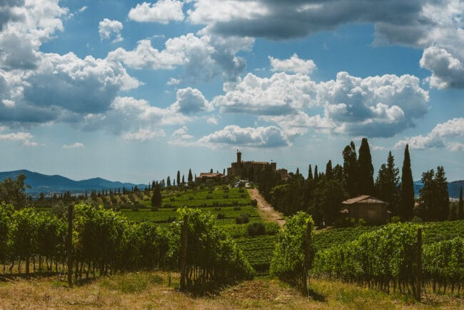 Castle in Tuscany for exclusive weddings