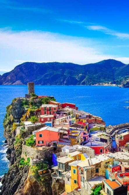 One of the pictoresque village of the Cinque Terre
