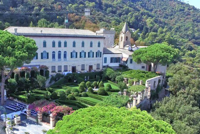 Wedding venue in Italian Riviera with sea view