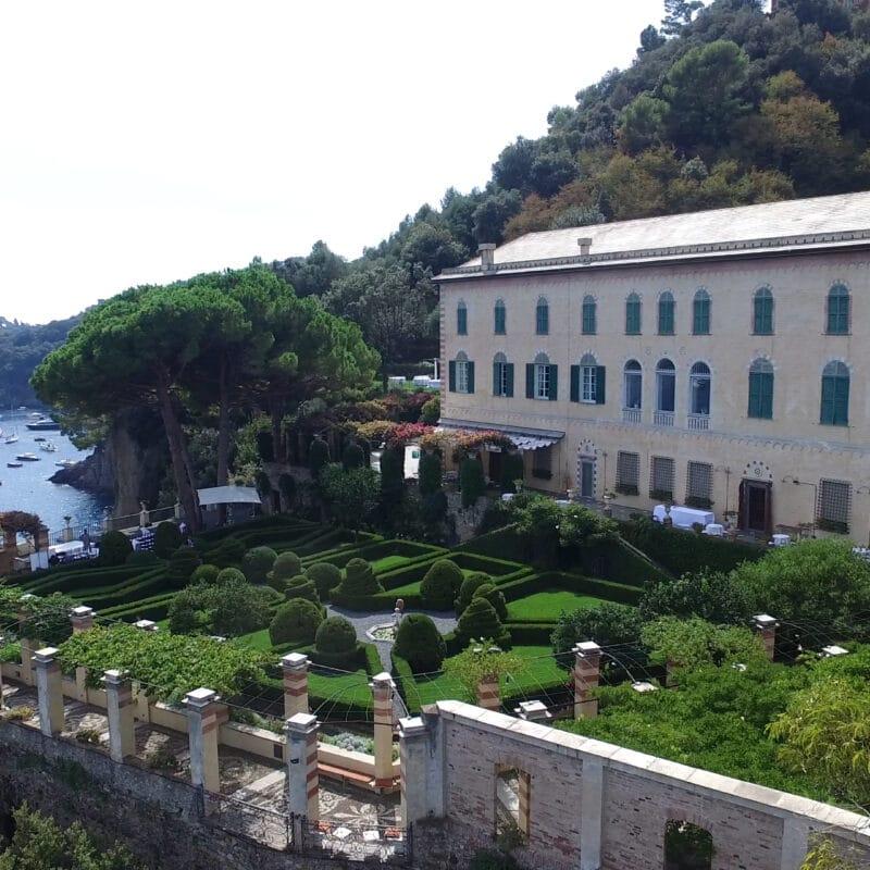 Exclusive wedding villa in Portofino with sea-view