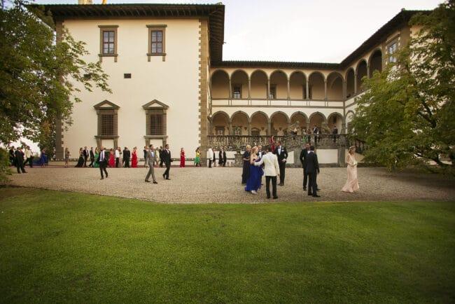 Renaissance style wedding villa in Florence