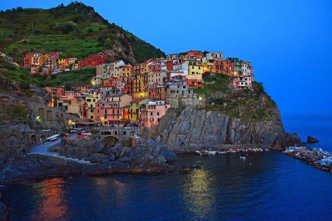 Manarola one of the Cinque Terre village ideal for small ceremonies