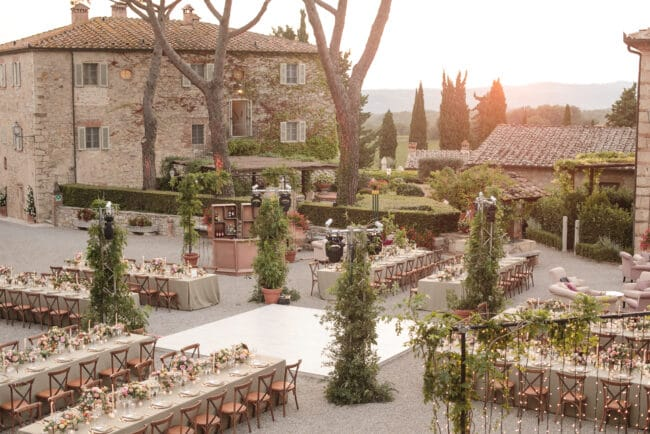 Wedding in a wine estate in Siena, Tuscany