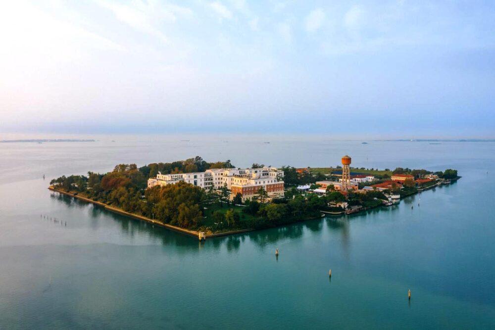 Romantica isola per matrimoni a Venezia
