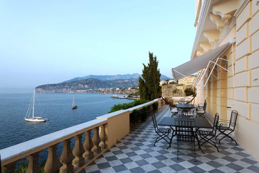 Sorrento wedding villa with terrace