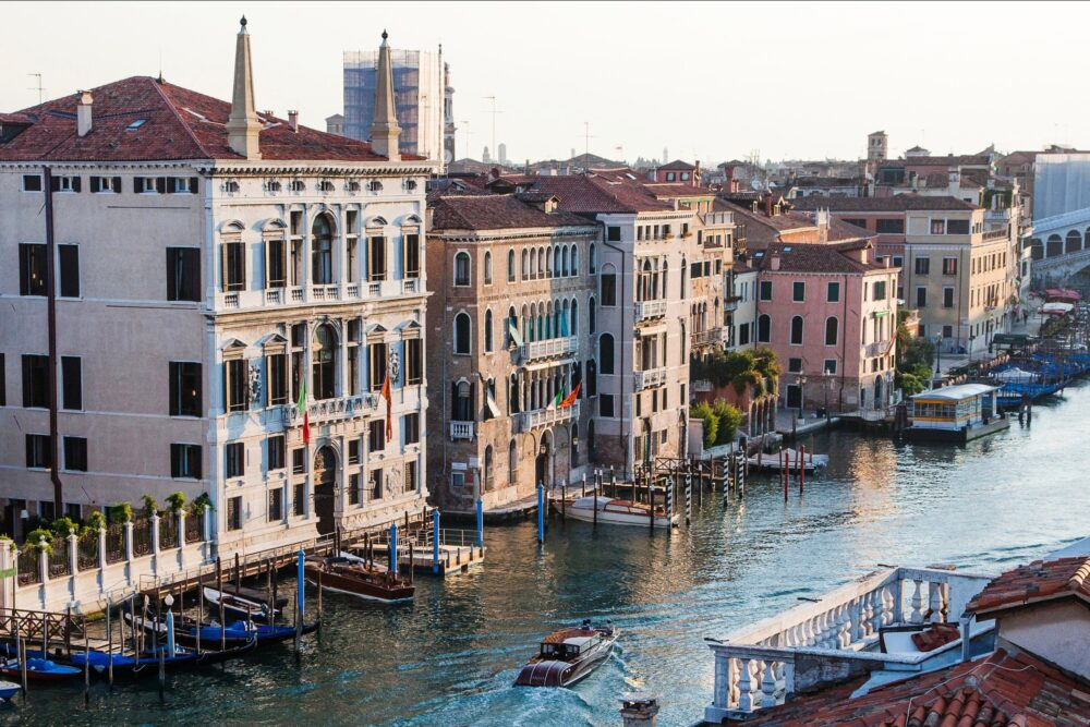 Luxury palace in venice with Grand Canal view