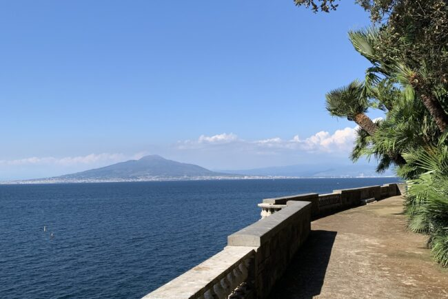 Wedding villa terrace with sea-view in Sorrento