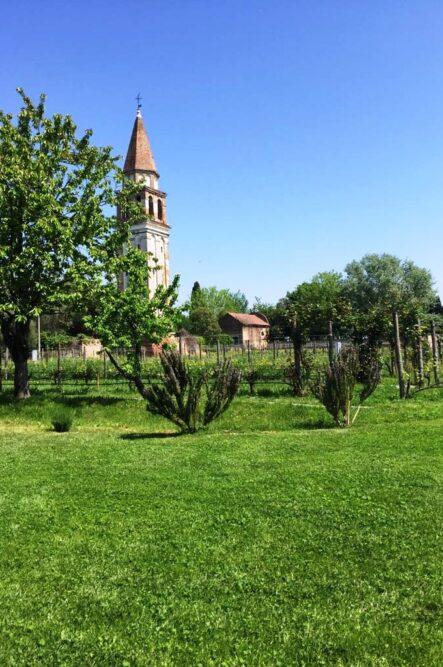 Garden in Venice for outdoor wedding ceremonies