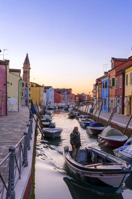 Wine resort in Venice close to Burano island in Venice
