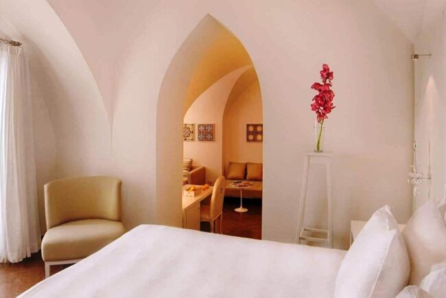 Amalfi Coast hotel, Honeymoon suite