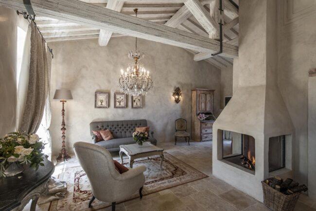 Grey color theme for an elegant suite
